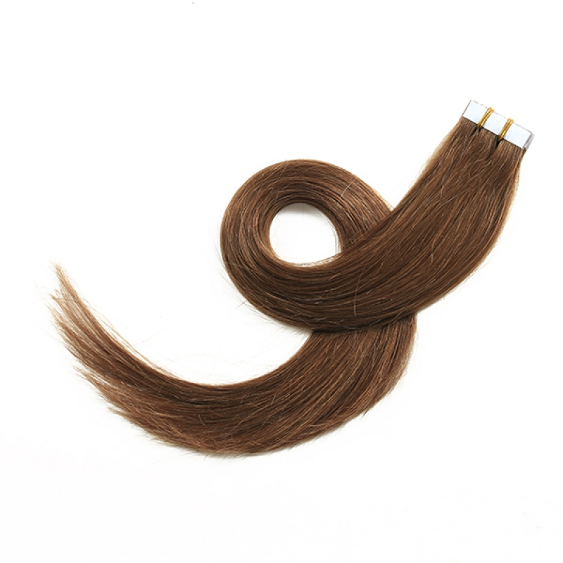 Remy Human Hair Extensions P4/613# Color Brazilian Virgin Hair Extensions