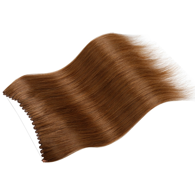 100g European Russian Soft Flip In Hair Extension Mix Color Straight hair