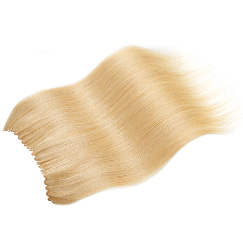 100g 20 inch Fish Line Straight Hair Flip In Hair Extensions  All Colors on sell
