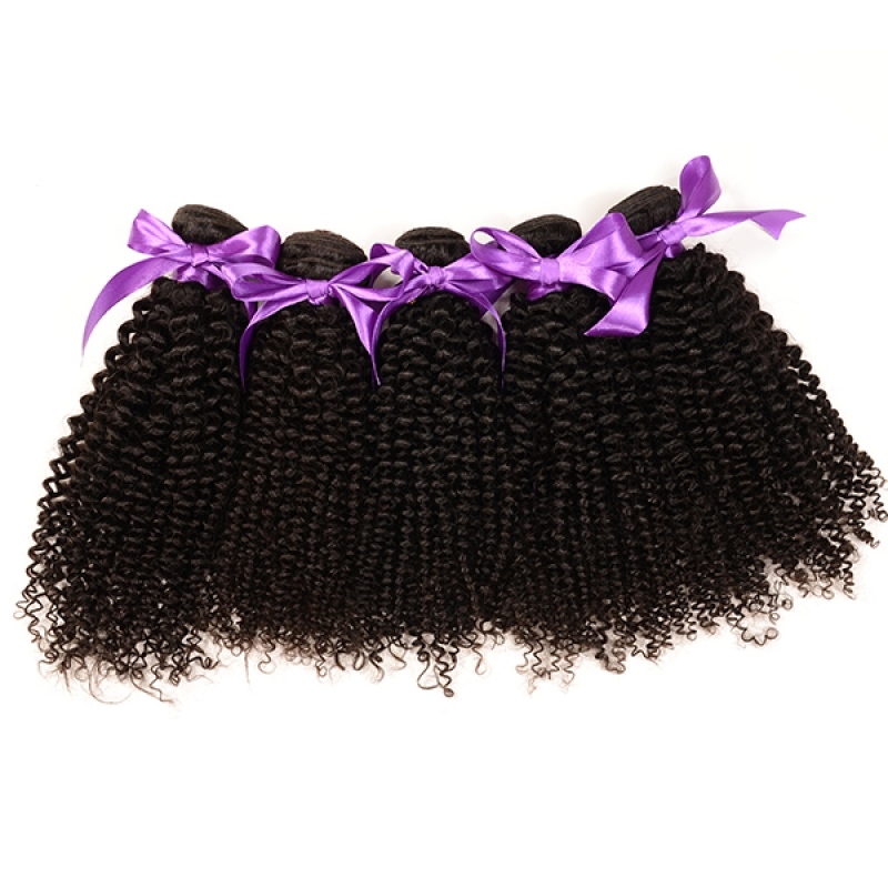 Durable Weft Fast Delivery Malaysian Kinky Curly Hair