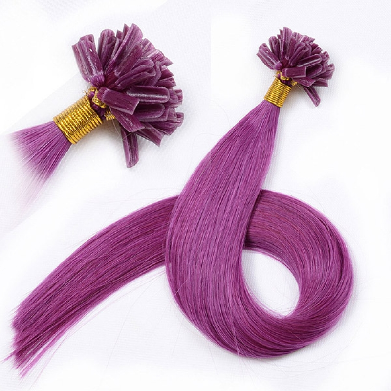New arrival cheap virgin malaysian u tip keratin hair extensions garnier hair