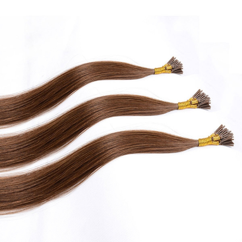 Brazilian I Tip Stick Hair Extensions Pre bonded Hair Extensions 20