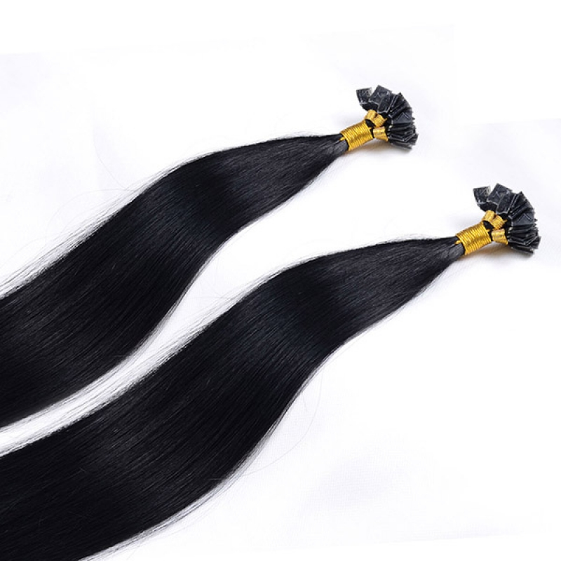 Good Quality Most Popular Remy Human Hair Hxtension Full Cuticles Flat Tip Hair