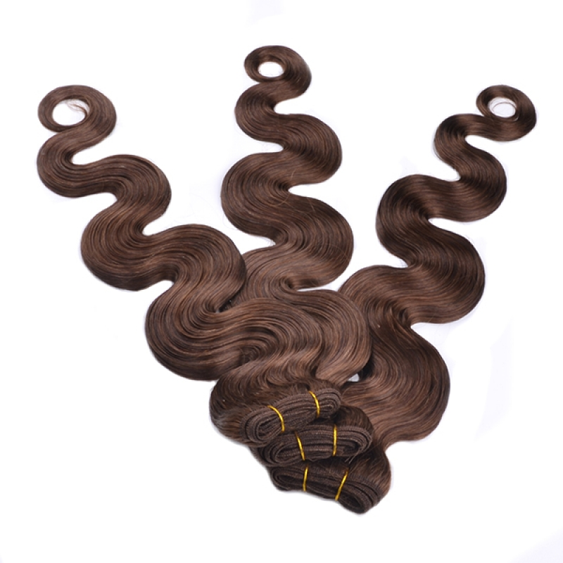 Double Weft Raw Peruvian Virgin Hair Weave Extension