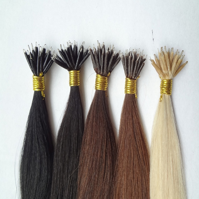 New Arrival Nano Hair Extensions 100% India Remy Hair
