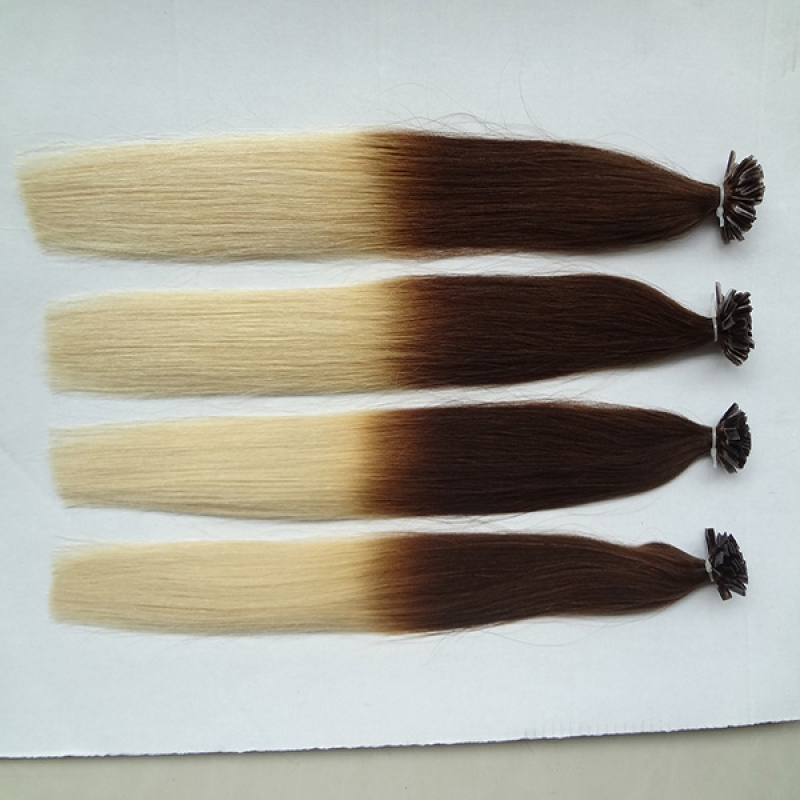 wholesale cheap price indian remy omber keratin tape hair extensions