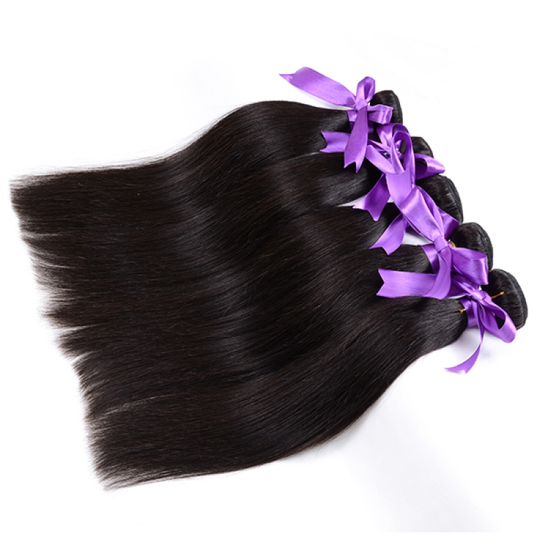 Rosa Hair Products Unprocessed malaysian virgin straight hair human hair weave